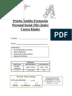 Prueba Formacion Personal y Social  Junio kinder 2018 ok.docx