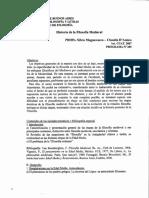 Magnavacca - Teoricos Desgrabados - Historia de La Filosofia Medieval 2007 UBA