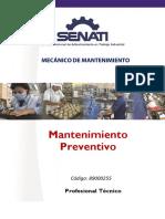 89000255 MANTENIMIENTO PREVENTIVO
