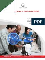 Modelado de un Helicóptero de 2 grados de libertad