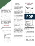 Brochure Pre Supuesto Credito
