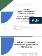 Clase 2 2018 Corriente de Cortocircuitos e Interruptores