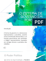 o Sistema Politicos Portugal