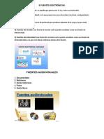 5 Fuentes Electrónicas
