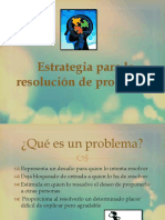 Estrategia Resolucion de Problemas
