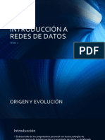 Introducción a Redes de Datos
