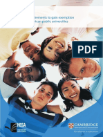Higher Education South Africa Brochure