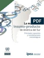 La Matriz de Insumo-producto de América Del Sur