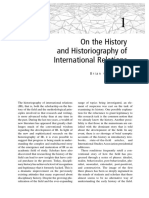 On the History of IR - Schmidt