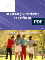 03 Lascausasylaresoluciondeconflictos 091008071614 Phpapp02