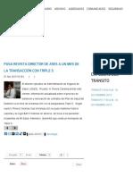 Foro Noticioso - PASA REVISTA DIRECTOR DE ASES A UN MES DE LA TRANSACCIÓN CON TRIPLE S