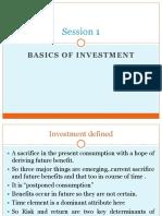Investment Basics.