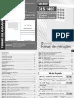 Manual CLS1400 17