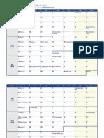 Calendario Chile Feriados 2018