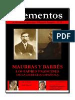 74. Elementos  MAURRAS Y BARRÈS-- LOS PADRES FRANCESES DE LA DERECHA ESPAÑOLA.pdf