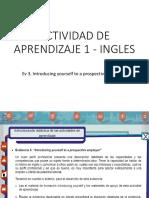 Actividad de Aprendizaje 1 - Ingles