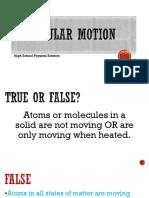 molecular motion hsps
