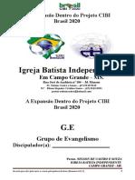 g.e - Grupo de Evangelismo - Discipulador