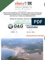 PPT2 - Geotube Project Beach Restoration (Barra de Navidad, Jalisco, Mexico)