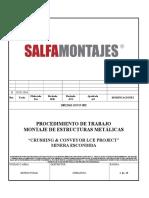 10012361-EST-P-002 P.T. Montaje de Estructuras Metálicas Rev.B