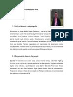 Diario Pedagógico 2016 Jorge