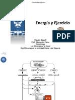 2.- Bioenergética Del Ejercicio - Klgo. Claudio Báez