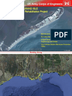 US Army Corp of Engineers Grand Isle Geotube Report