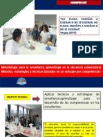 Presentacion 1_Fundamentos de la metodologia de  la enseñanza aprendizaje en la docencia universitaria.pptx