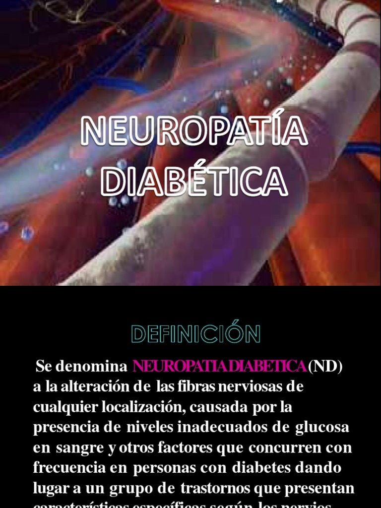 polineuropatía diabetes documentos scribd