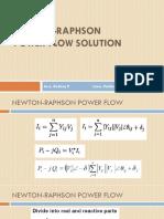 Newton-Raphson Powerflow Solution.pptx