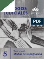 Ramírez, Carlos (2017).- Dialogos Judiciales 5. Medios de Impugnación