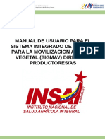 manual sigmav