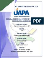 Tarea 2 Derecho Laboral II 18-05-2018