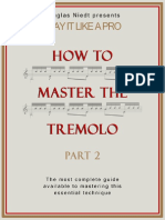 How to Master the Tremolo Pt. 2 How to Practice