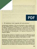 Ser política en Chile, selección