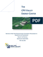 THE CPV VALLEY ENERGY CENTER - 2013 RFP
