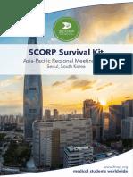 SCORP Survival Kit - Asia-Pacific Regional Meeting 2018