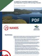 Canadian Aquaculture Survey