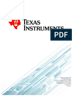 ACE Consulting Report  for Texas Instruments