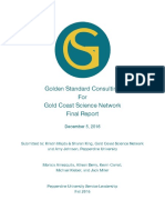 Golden Standard Consulting for Gold Coast Science Network