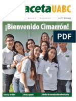 Edición Especial Bienvenida Agosto 2018
