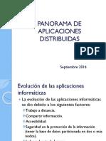 Panorama de Aplicaciones Distribuidas