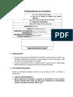 Informe - Marzo 2017 Corregido