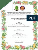 Reactivos Investigaci n de Mercado.