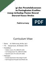 fatofisiologi pada penyakit stroke