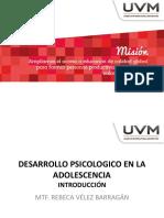 Desarrollo Psicologico en La Adolescencia