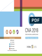 Folleto CNA 2018