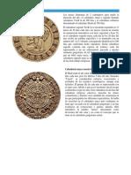 Calendario Maya Anual y Cuenta Corta