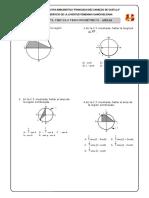 Taller Círculo Trigonométrico - Areas
