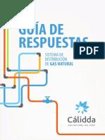 Guía de Respuestas Sobre El Sistema de Distribución de Gas Natural CALIDDA